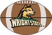 Fan Mats Wright State University Football Mat