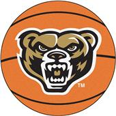 Fan Mats Oakland University Basketball Mat