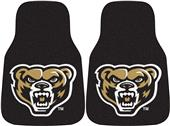 Fan Mats Oakland University Carpet Car Mats (set)