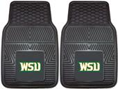 Fan Mats Wright State Univ. Vinyl Car Mats (set)