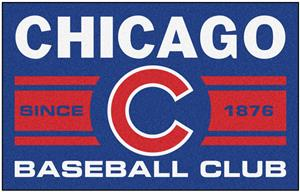 Fan Mats MLB Chicago Cubs Starter Mat