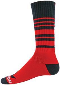Red Lion Infinity Striped Crew Socks