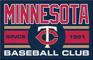 Fan Mats MLB Minnesota Twins Starter Mat