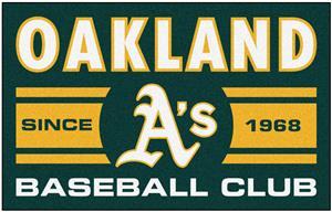 Fan Mats MLB Oakland Athletics Starter Mat