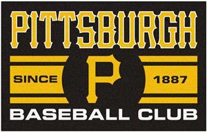 Fan Mats MLB Pittsburgh Pirates Starter Mat