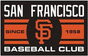 Fan Mats MLB San Francisco Giants Starter Mat