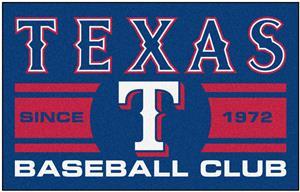 Fan Mats MLB Texas Rangers Starter Mat