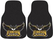 Fan Mats Kennesaw State Univ Carpet Car Mats (set)