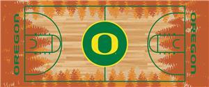 Fan Mats Univ. of Oregon Basketball Court Runner