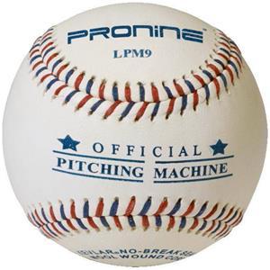 """Pro Nine 9"""" Pitching Machine Flat Seam Baseballs"""
