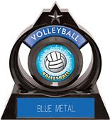 "Hasty Awards Eclipse 6"" HD Volleyball Trophy"