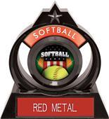 "Hasty Awards Eclipse 6"" Patriot Softball Trophy"