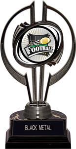 "Black Hurricane 7"" Xtreme Football Trophy"