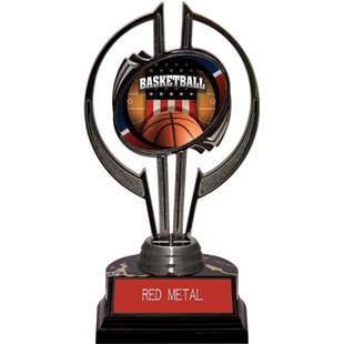 "Black Hurricane 7"" Patriot Basketball Trophy"