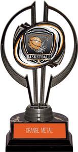 "Black Hurricane 7"" Shield Basketball Trophy"