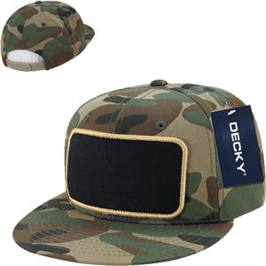Decky Patch 6-panel Snapback Caps