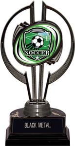 "Awards Black Hurricane 7"" Shield Soccer Trophy"