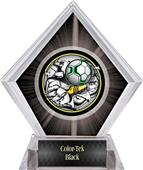 Awards Bust-Out Soccer Black Diamond Ice Trophy
