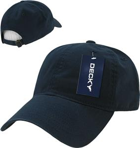 Decky Washed Cotton Polo Caps