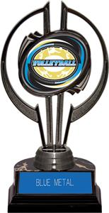 "Award Black Hurricane 7"" Classic Volleyball Trophy"