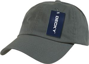 Decky Washed Polo 6-Panel Caps