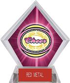 Awards Classic Cheer Pink Diamond Ice Trophy
