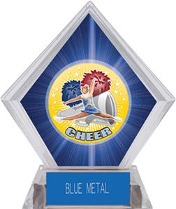 Hasty Awards HD Cheer Blue Diamond Ice Trophy