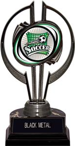 "Awards Black Hurricane 7"" Xtreme Soccer Trophy"