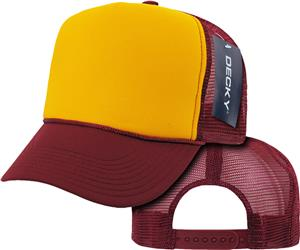 Decky Industrial Mesh 6-Panel Caps