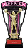 "Hasty Awards 9.25"" Stadium Back Cheer Trophy"