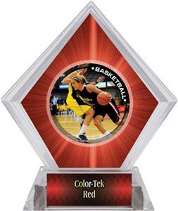 P.R. Female Basketball Red Diamond Ice Trophy