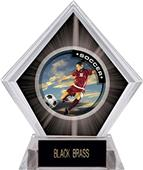 Awards P.R. Female Soccer Black Diamond Ice Trophy