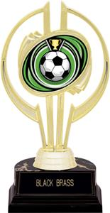 "Awards Gold Hurricane 7"" Eclipse Soccer Trophy"