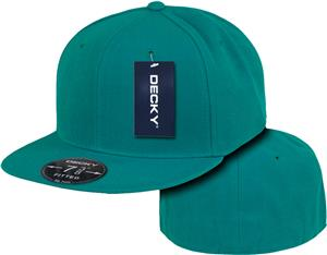 Decky Retro 6-panel Fitted Baseball Caps
