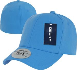 Decky Fitall Flex 6-Panel Baseball Caps