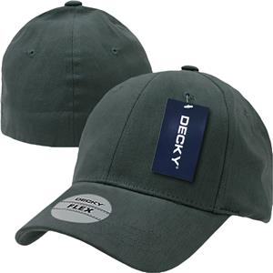 Decky 6-Panel Fitall Flex Baseball Caps