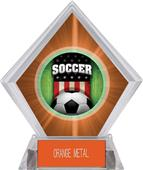 Awards Patriot Soccer Orange Diamond Ice Trophy