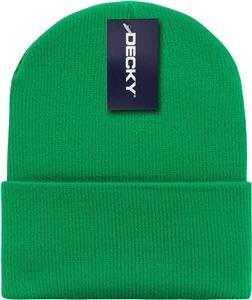 Decky Acrylic Knit Beanie Caps