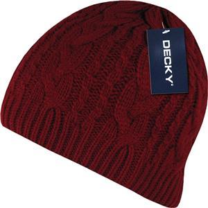 Decky Braidy Knit Beanies