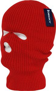 Decky Face Mask 3 Hole Beanies