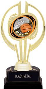 "Gold Hurricane 7"" HD Basketball Trophy"