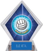 HD Volleyball Blue Diamond Ice Trophy