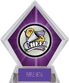Hasty Award Xtreme Cheer Purple Diamond Ice Trophy
