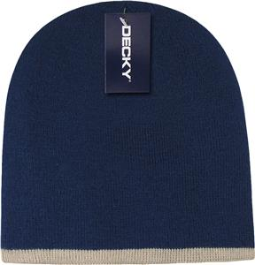 Decky Single Striped Beanies