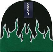 Decky Kids Flame Pattern Fire Beanies