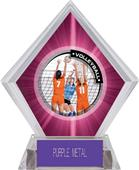 Awards PR2 Volleyball Pink Diamond Ice Trophy