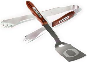 COLLEGIATE Oregon BBQ Master 2 Piece Set
