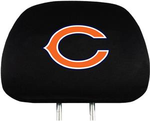 NFL Chicago Bears Headrest Covers - Set of 2