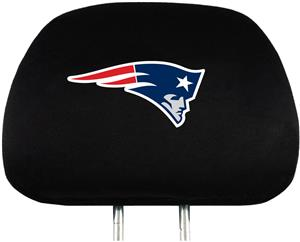 NFL New England Patriots Headrest Covers -Set of 2