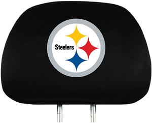 NFL Pittsburgh Steelers Headrest Covers - Set of 2